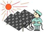 太陽光発電・ソーラーパネル・メガソーラー・ソーラー発電・自然エネルギー・太陽エネルギー