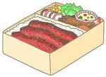 ステーキ弁当・ビーフステーキ・牛ステーキ・ローストビーフ