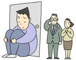 引きこもり・閉じこもり・不登校・登校拒否・適応障害・統合失調症