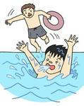 水難事故・海水浴事故・水の事故・川の事故・水難救助・監視員・浮き輪