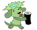 ラインスタンプ 「犬キャラクター - 河童犬」
