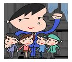 ラインスタンプ 「ビジネスマンキャラクター - 会社員ライフ」