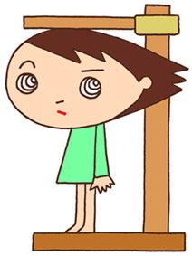 身体測定・身長測定・身長計・健康測定・生徒・小学生・子供の成長