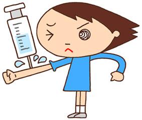 注射・予防注射・採血・血液検査・感染症予防・保健室・医務室
