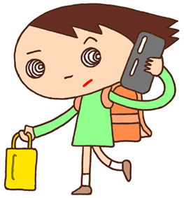 スマートフォン・携帯電話・通話・会話・連絡・登下校・GPS・安全管理