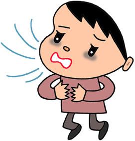 過呼吸・呼吸困難・肺炎・肺疾患・呼吸器障害・呼吸器疾患