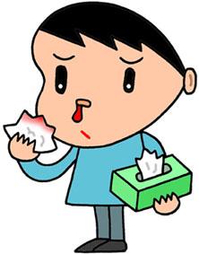 鼻血・出血・のぼせ・止血・鼻出血・耳鼻科