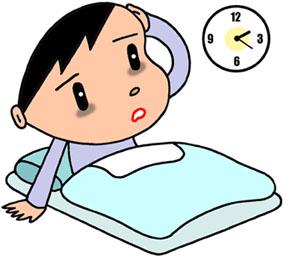 不眠症・睡眠障害・寝不足・過眠症・入眠困難