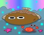 魚(カレイ)のキャラクター
