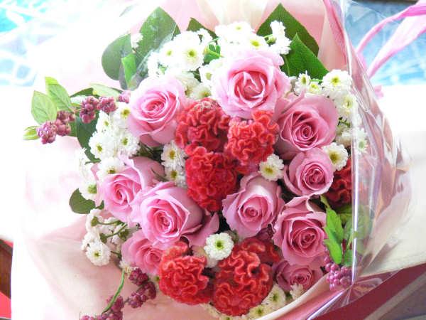 可愛い系の花束