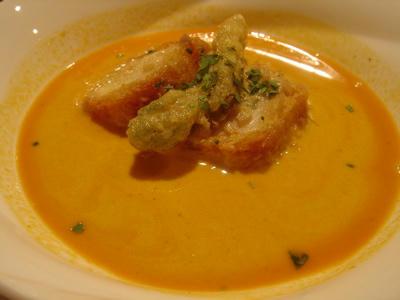 オマール海老のスープ