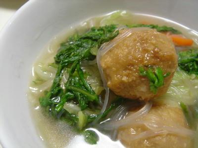肉団子スープ1
