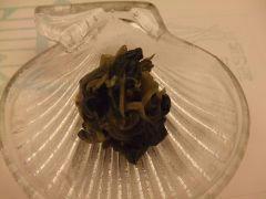 花山葵の漬け物