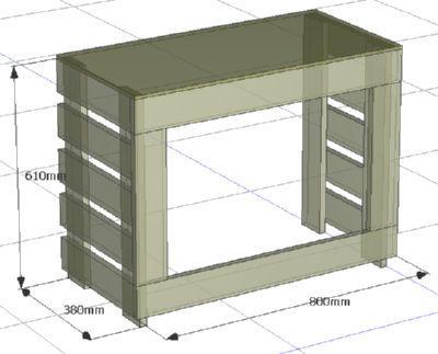 室外機の設計図