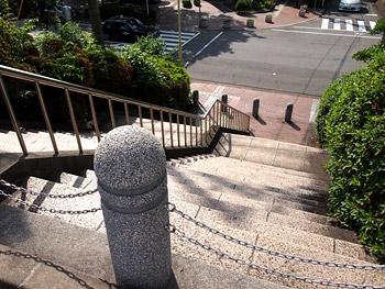 旧呉海軍病院の階段