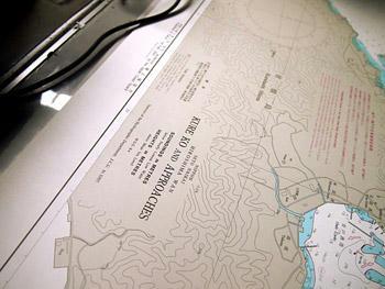 呉周辺の海図