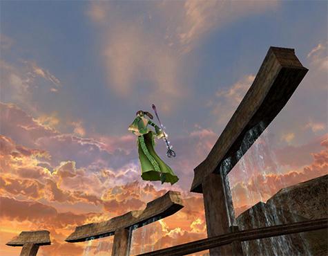 テトラ地域の空がお気に入りです