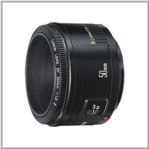 【キヤノン】CANON EF50mm F1.8 II(新)