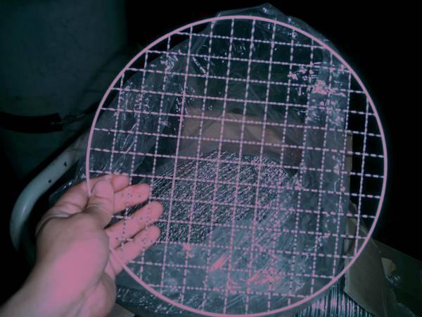 七輪BBQ焼肉屋さんにピッタリな網です27.5cm