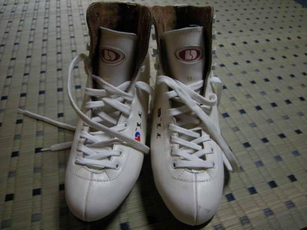 スケート靴 白 40cm 中古