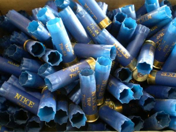 散弾銃の空薬莢「ナイキ」