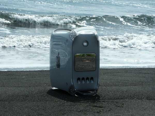 砂浜と遠い岬のG4 MDD用ケース