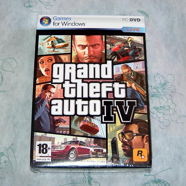 美品 グランドセフトオートIV PC版