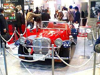 ルパン三世の愛車ベンツSSKレプリカ・世界に1台