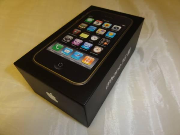 Apple iPhone 3GS ブラック 32GB 箱 ケーブル類完備