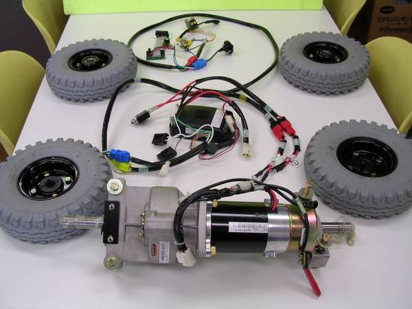 新品電気自動車(エコカー)組立キット