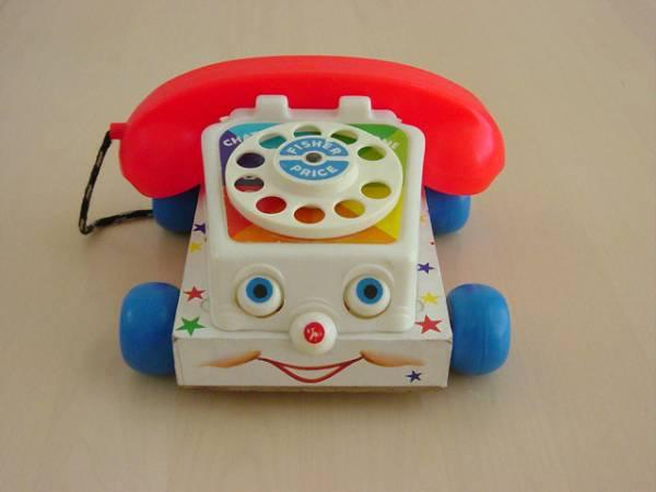 トイストーリー3に出てきた、おしゃべり電話