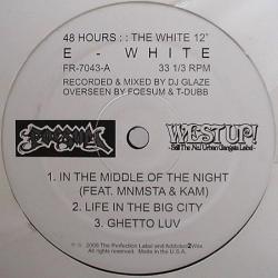 【G-RAP】E-WHITE 48 Hours The White Album