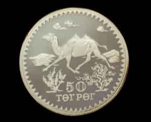 5オンス 純銀コイン 純銀メダル モンゴル