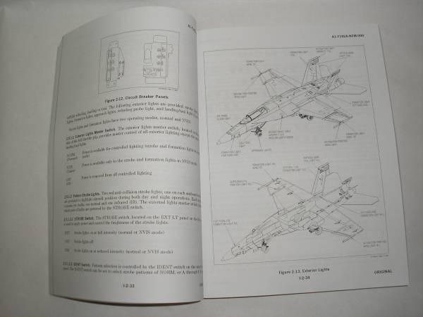 F-18戦闘機のフライトマニュアル