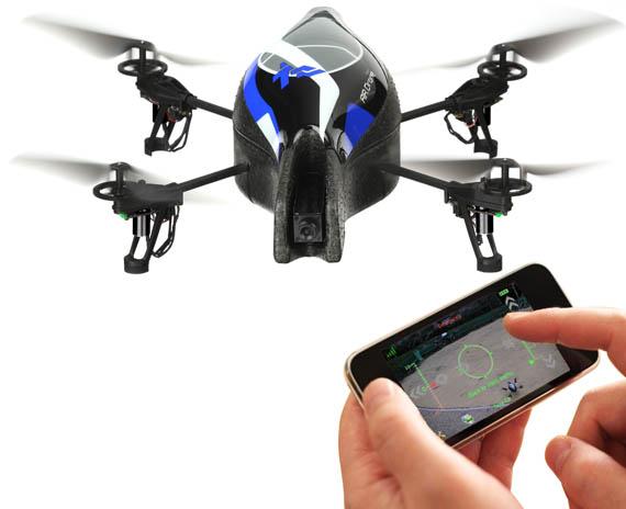ar drone ヘリ