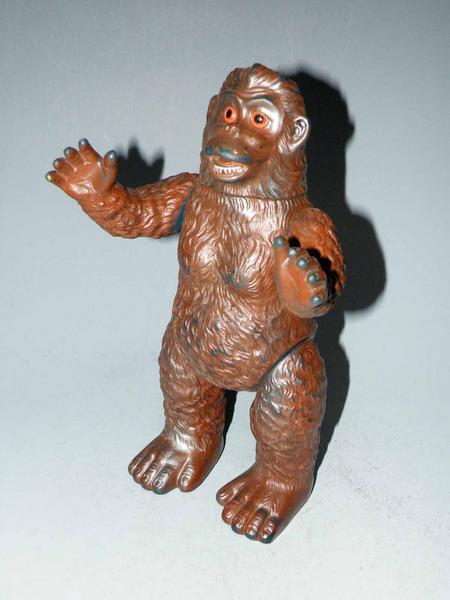巨大猿ゴロー イーリアン島の巨猿 ウルトラQ ソフビ