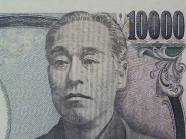 涙をながす福沢諭吉