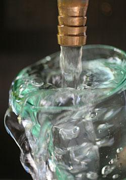 自宅の水道水