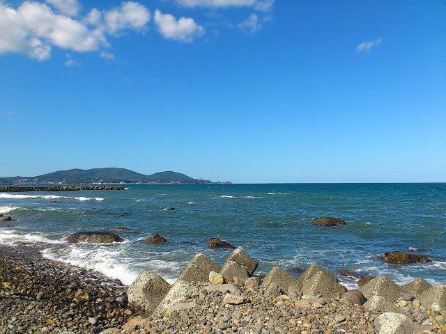 朝里海水浴場
