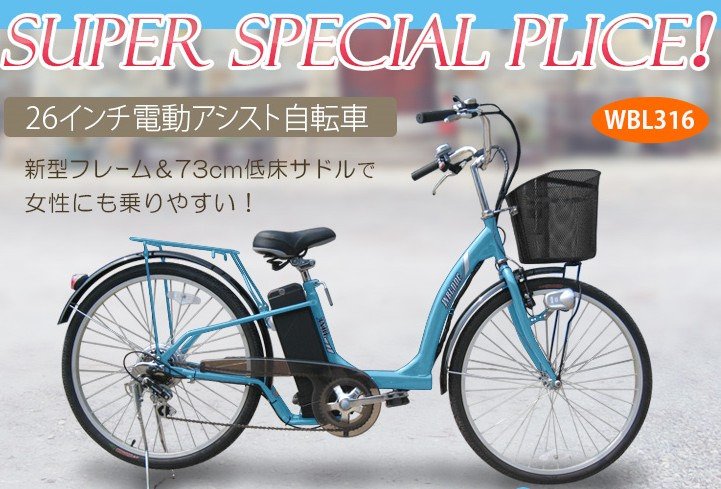 ... 電動アシスト自転車を購入する