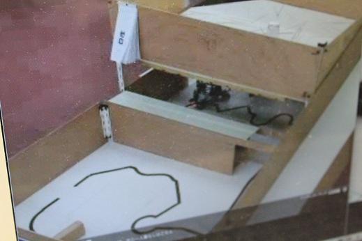 2011埼玉ノードのレスキューフィールドです。タイルが使用されています。2階の壁から串がぽろぽろ落ちてくるのが面白かったです(笑)