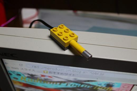 RCXの温度センサーです。持ってはいるけど実は殆ど使いません(笑)