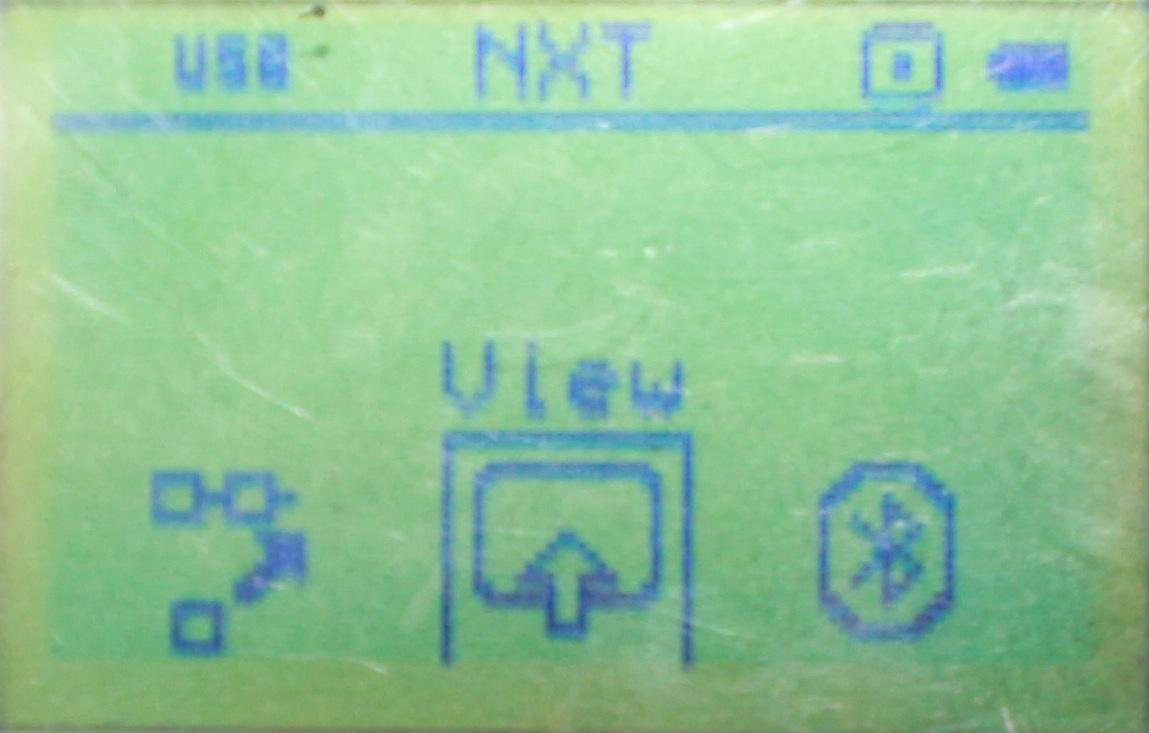 viewの選択画面です。この画面はファーム1.07のものです。「俺の持ってるNXTと違う!」って方はこれに該当するなにかを選択してください。