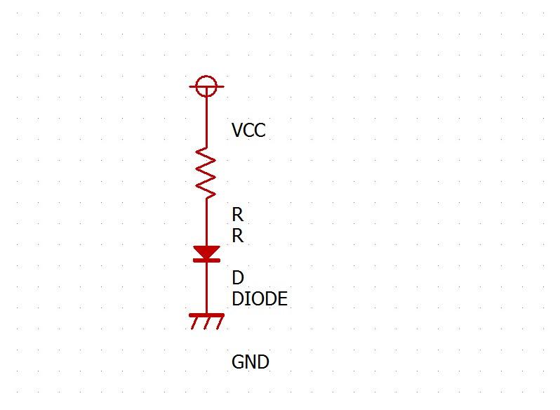 この場合、この回路には電流が通ります。