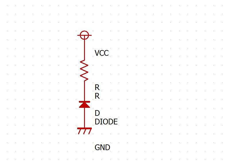 この場合、この回路には電流が通りません。