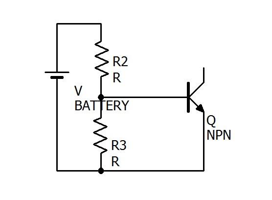 上の回路をBに関する部分だけ抽出してみました。