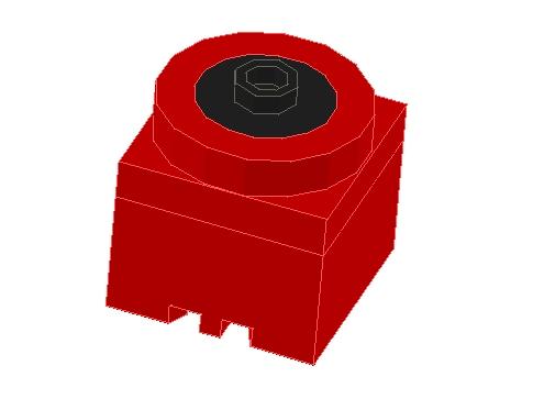 マイクロモーター、正直言ってRadiumのロボットのガトリング以外では見たことがない一品