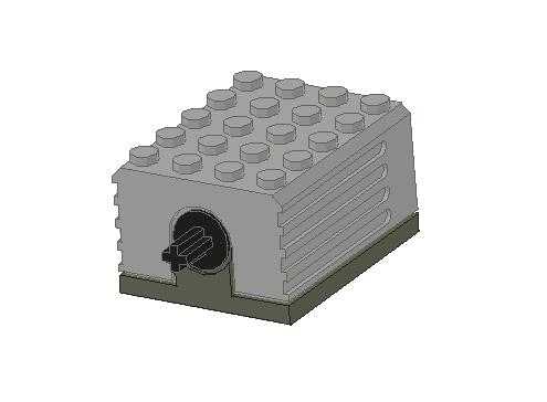 LEGO用の高速モーターです、今ではあんまり見ないかも・・・トゥルースにはよく転がってますけどね(笑)