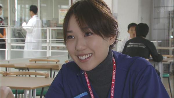 コードブルー戸田恵梨香のかわいい笑顔