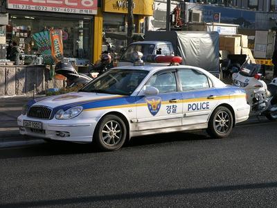 韓国パトカー2005